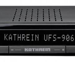 Kathrein UFSconnect 906sw – Neuer Receiver von Kathrein