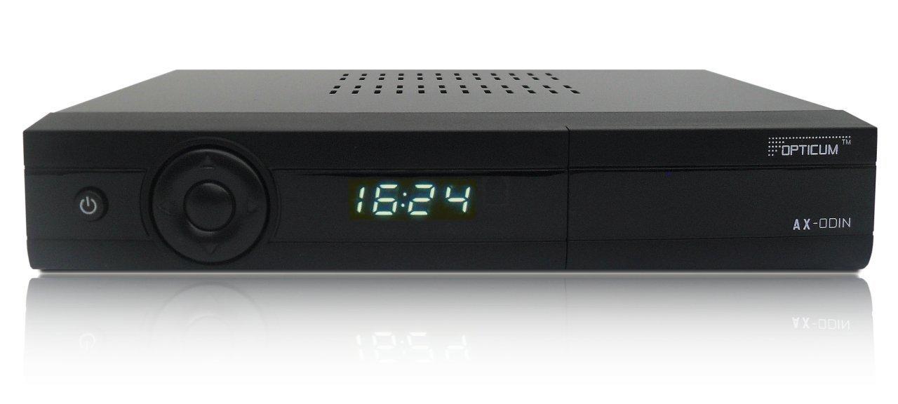 opticum hd ax odin e2 im test linux receiver f r pay tv. Black Bedroom Furniture Sets. Home Design Ideas