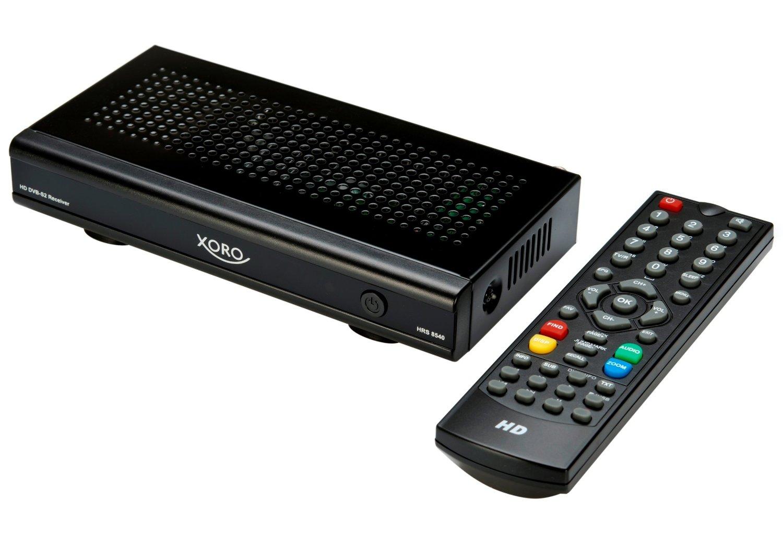 xoro hrs 8540 test g nstiger einsteiger receiver mit allem. Black Bedroom Furniture Sets. Home Design Ideas