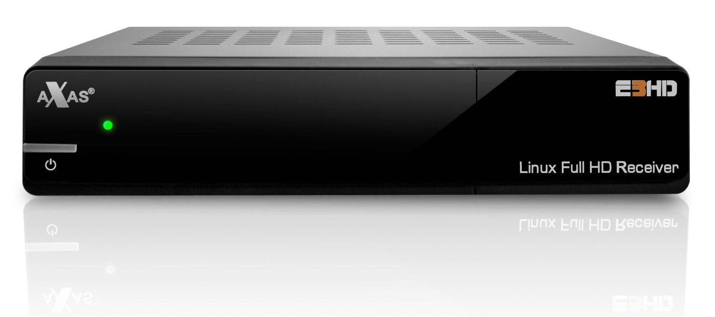 axas e3hd linux receiver im test dvb s2 receiver mit. Black Bedroom Furniture Sets. Home Design Ideas