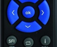 Telestar Diginova 10 HD+ Fernbedienung