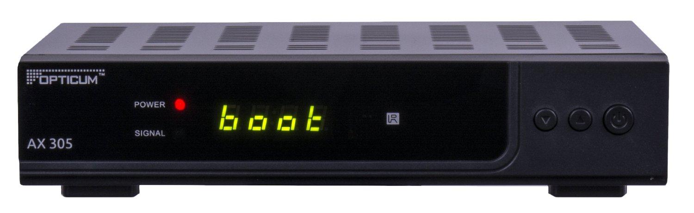 opticum hd ax 305 sehr g nstiger sat receiver mit usb pvr digitaler sat receiver. Black Bedroom Furniture Sets. Home Design Ideas